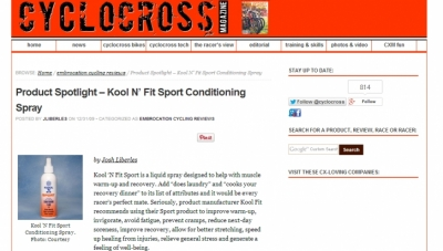 Spotlight on KNF from Cyclocross Magazine
